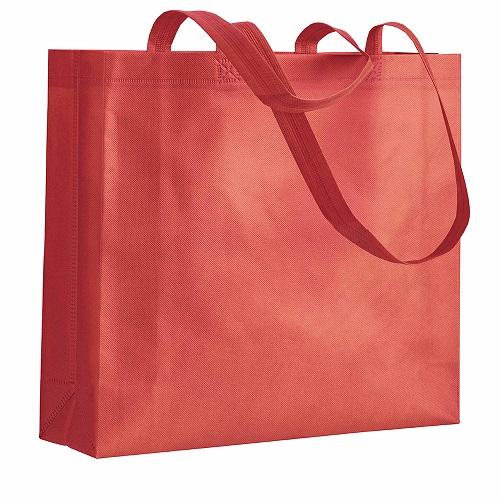5aa41b3759 Οικολογικές τσάντες Non woven Υφασμάτινες οικολογικές τσάντες με πιέτα