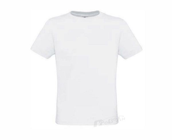 347a5c5756eb Διαφημιστικά μπλουζάκια Μακό Λευκό 130 γρ ΠΡΟΒΟΛΗ Advertising Gift