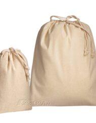 Σακούλες πάνινες βαμβακερές με κορδόνι