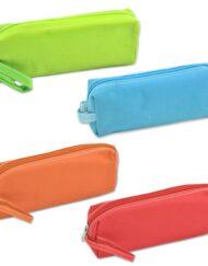 Μολυβοθήκη πάνινη σε 4 χρώματα