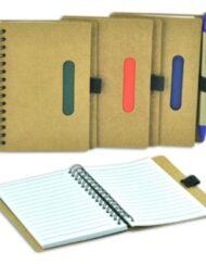 Μπλοκ σημειώσεων οικολογικό σε 4 χρώματα