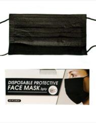 Μάσκα μαύρη τριπλής στρώσης τύπου Ι